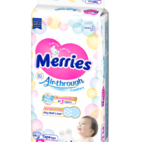 Pañales Desechables Merries M